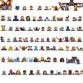 35 шт./лот 34044 фигурки героев аниме SY271, сборные строительные блоки, кирпичи, игрушки для детей, подарки