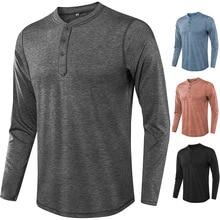 2019 Classic T Shirt Men Comfort Soft Casual Long Sleeve