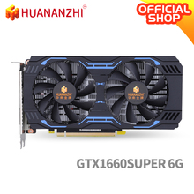 Graphics-Card Video-Car GDDR6 Huananzhi Gtx 1660 Super-6g DP 14000mhz 192bit DVI HDMI