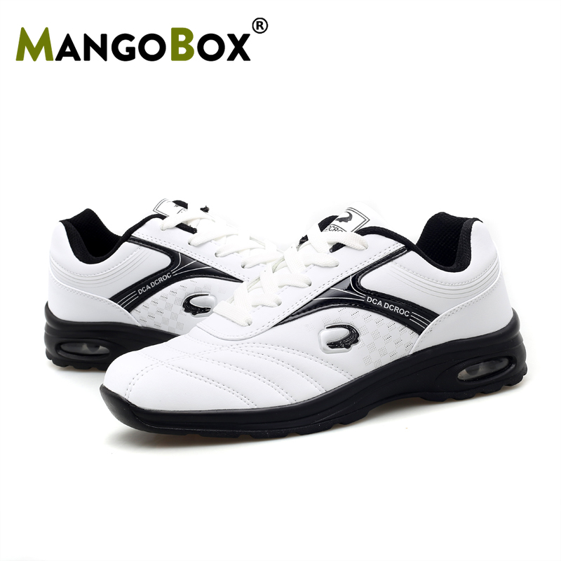 2020 Professional Men Golf Shoes Waterproof Golf Sport Sneakers Comfortable Black White Golf Training Shoes Sport