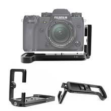 Quick Release L Plate Bracket Holder Hand Grip Voor Fujifilm X H1 XH1 Digitale Camera Voor Arca Swiss Statiefkop
