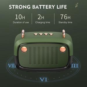 Image 3 - Retro Bluetooth Speaker Portable Wireless BT5.0 Speaker Indoor/Outdoor Loundspeaker with Powerful Bass Support TF Card/U Disk/FM