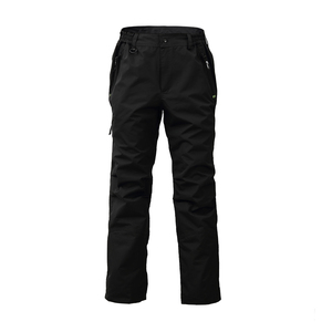 Image 1 - 8 Fans 2 ply Fishing Hiking Trawler Pant with Pockets Outdoor Quick Dry Breathable Trouser for Men & Women Waterproof Black