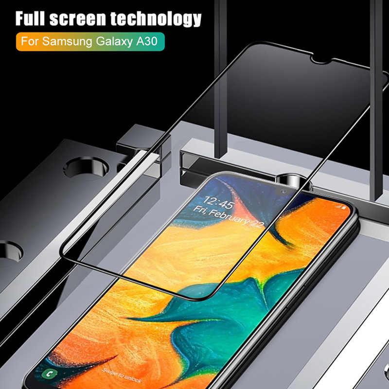 9D غطاء الزجاج المقسى لسامسونج غالاكسي J7 رئيس 2 J2 J5 زجاج واقي لسامسونج S10E S6 S7 M10 M20 M30 واقي للشاشة