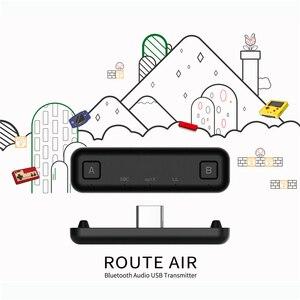 Image 3 - استقبال الارسال USB C USB A سماعة لاسلكية تعمل بالبلوتوث محول الصوت ل نينتندو سويتش لعبة وحدة التحكم ل PS4 PC وأكثر من ذلك