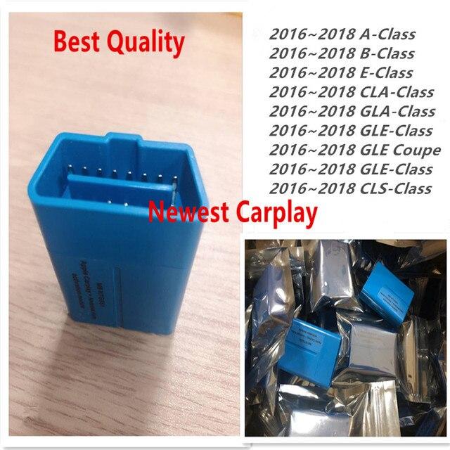 2018 أحدث CarPlay لمرسيدس بن NTG5 S1 أبل وأندرويد أداة تفعيل السيارات آيفون/أندرويد تحديث بواسطة MB ستار C4 أو C5