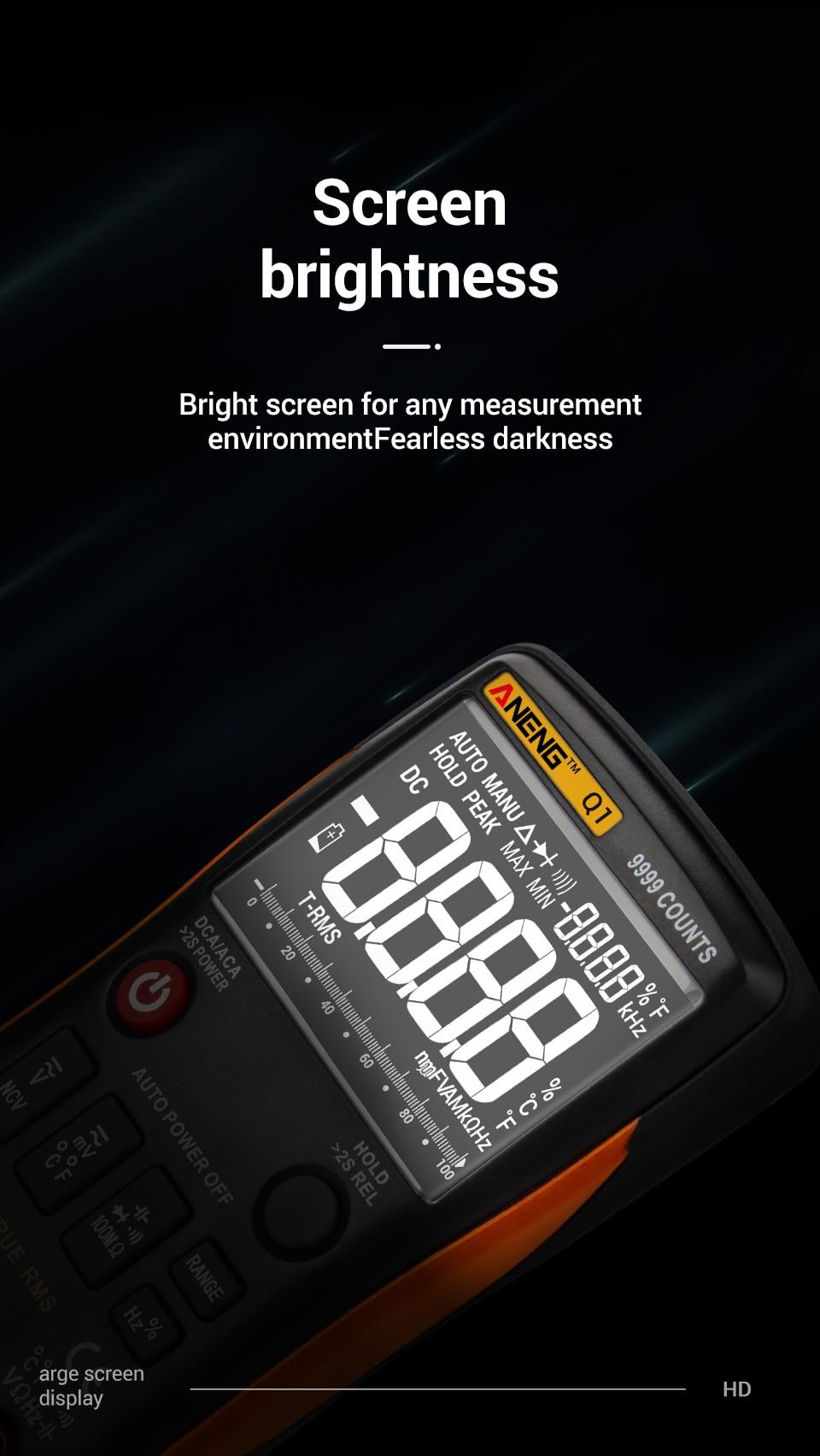 multimetro digital profissional analogico automotivo multimeter True