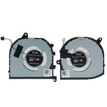 Jianglun novo cpu gpu ventilador de refrigeração para dell xps 15 9570 tk9j1 08yy9 l + r ventilador