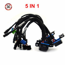 100% High Quality EIS ELV Test Cables 5in1 Maintenance Work VVDI MB BGA TOOL CGDI Prog MB EIS ELV W204 W212 W221 W164 W166