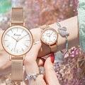 Kimio 2020 новые женские роскошные брендовые часы простые Кварцевые женские водонепроницаемые наручные часы женские модные повседневные часы ...