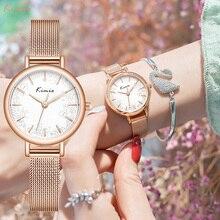 Kimio 2020 New Women Luxury Brand Watch Simple Quartz Lady Waterproof Wristwatch Female Fashion Casual Watches Clock reloj mujer
