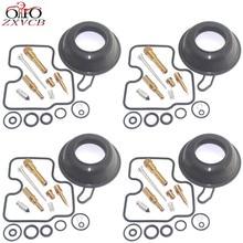 4set for CB400SF NC31 CB400 CB 400 SF 400SF NC 31 Motorcycle carburetor repair kit plunger vacuum diaphragm parts