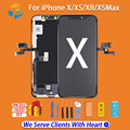 AAA+++ LCD For iPhone X Xs OLED With 3D Touch Digitizer display for iphone x LCD Screen Digitizer Replacement Assembly with Gift
