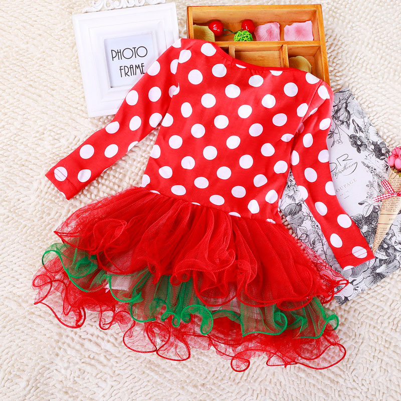 Hd25b8a7905fa4adc8a3d1081e3280ab1s 2-6T Santa Claus Christmas Dress Kids Party New Year Costume Winter Snowman Baby Girl Clothes Christmas Tree Children Clothing