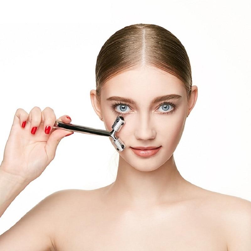 Японский германиевый массажный валик для лица и глаз для тела инструменты для подтяжки лица Инструменты для коррекции фигуры косметически...