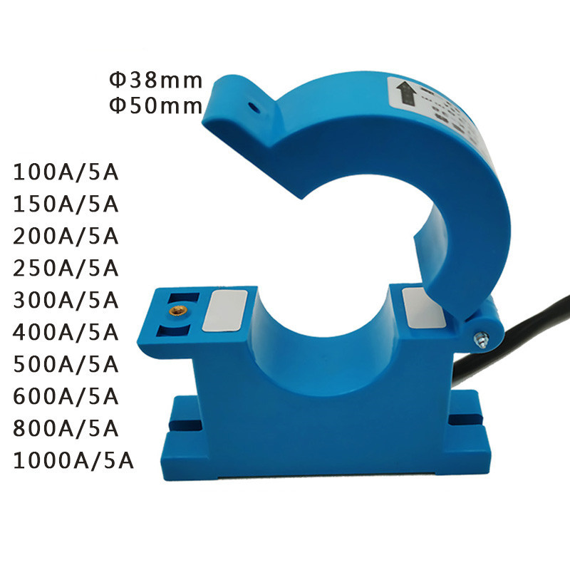 Clamp stromwandler Sensor drei-phase amperemeter 100A - 600A/5A AC strom Öffnen AC split core transformador CT Sensor