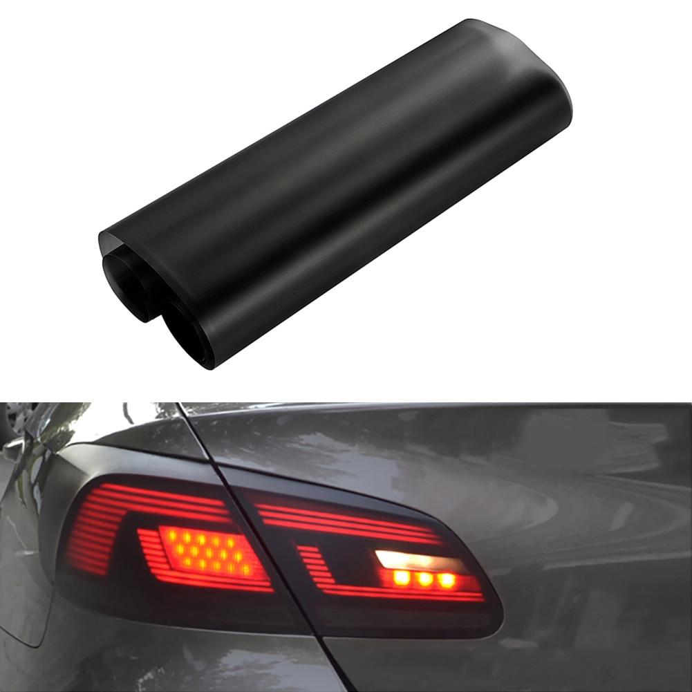 Car-styling 30 * 150cm  Car Matte Black Tint Headlight Taillight Fog Light Vinyl Rear Film Lamp Tint Film