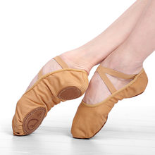 Парусиновые балетки на плоской подошве; Детские Балетки; Кожаные