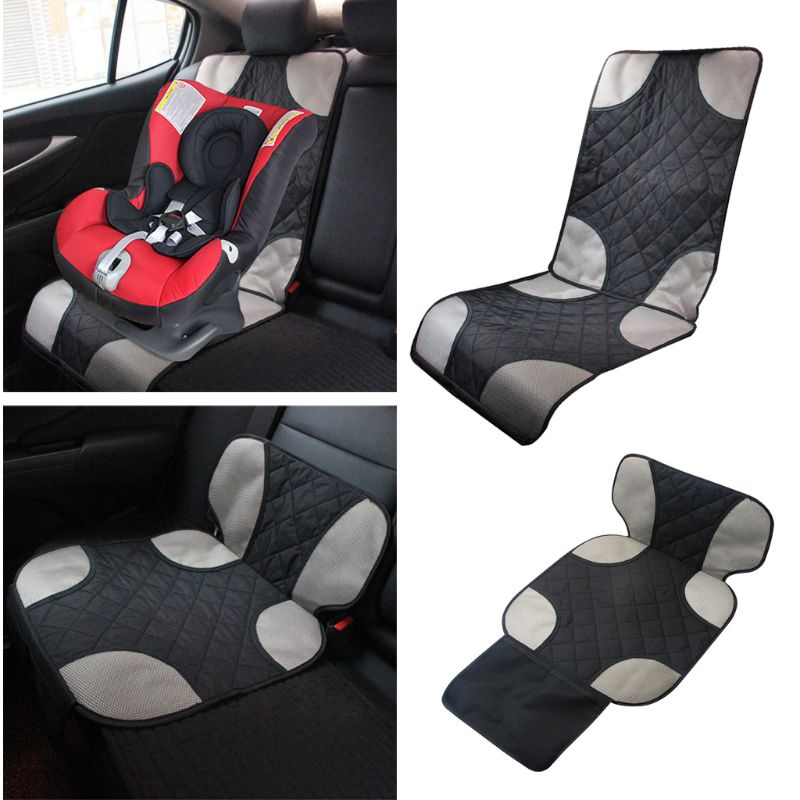 Oxford Cotton Luxury Leather Car Seat Protector Child Baby Auto Seat Protector Mat Improved Protection For Car Seat