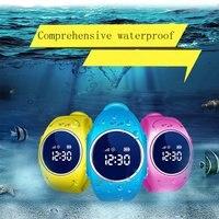 Q520S Smart Child Watch GPS Wifi Tracker SOS Help Anti Lost Monitor Phone Call Wristwatch Waterproof Sport Watch