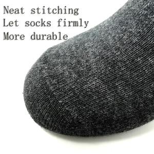 Image 4 - Men Socks Cotton Comfortable 5 Pairs/Set Boys Breathable Antibacterial Dropshipping