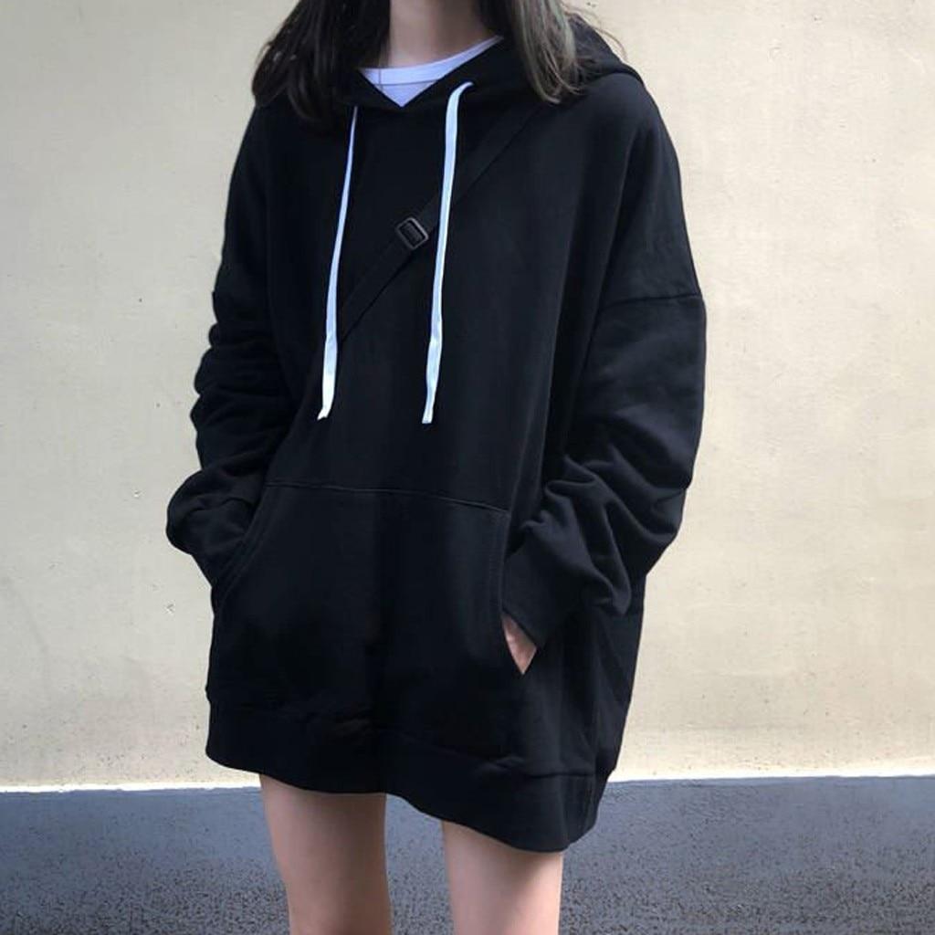 Oversized Hoodie Hoodies And Sweatshirts Women Autumn 2020 Hooded Long Sleeve Hoodie Streetwear Harajuku Hoodie Pullovers