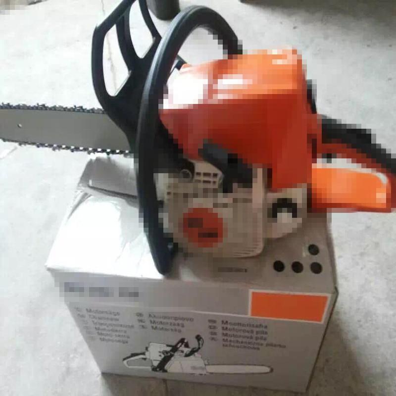 250 Powerful  Gas Chainsaw 2.2kw 45.4cc 250 Chain Saw Petrol Saw With 16'' Chain