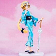 21CM Anime Fate Grand Order Joan Of Arc Action Figure Bathrobe Version Jeanne d Arc PVC Figure Toys For Kids инвертор барс profi arc 507 d 380в св000008123