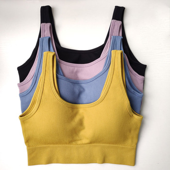 цена на Nepoagym Women VICTORY Seamless Sport Bra High Impact Sports Bra Fitness Bra Seamless Top Gym Women Active Wear