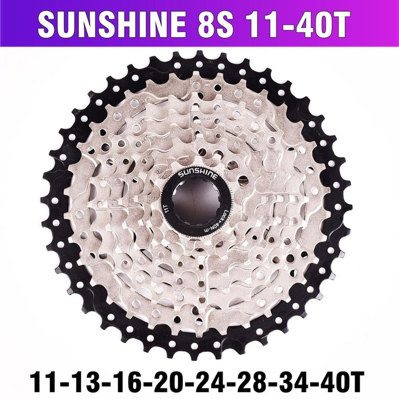 MTB Mountain Bike Flywheel 8 24 Speed <font><b>Cassette</b></font> Sprocket MTB Bike Freewheel 8S <font><b>11</b></font>-32 36 <font><b>40</b></font> 42T for 8 Speed Mountain Bike Parts image