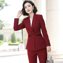 Women's suit women's business work suit jacket with trousers