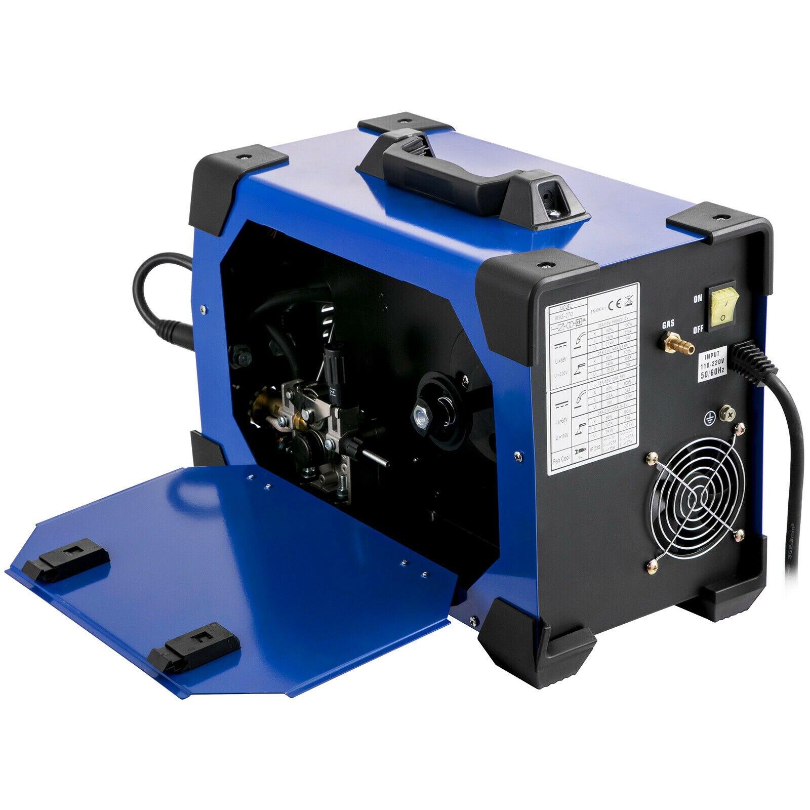 MIG EU Welding Machine Plug Welder MIG MMA 1 270A TIG 3 220V MMA Combo Mig Welder In