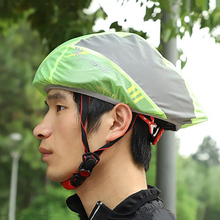 Чехол для велосипедного шлема, светоотражающий, непромокаемый, пыленепроницаемый, ветронепроницаемый, чехлы для велосипедного шлема, Аксессуары для велосипеда на открытом воздухе, AHPU