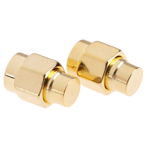 Hot New 2W 6GHz 50 ohm SMA Male RF Coaxial Termination Dummy Load Gold Plated Cap Connectors Accessories 2pcs