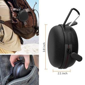 Image 2 - 여행 휴대용 충전기 충전 홀더 도크 스토리지 박스 애플 시계 시리즈 5/4/3/2/1 방진 지퍼 케이스 Airpods 1 2