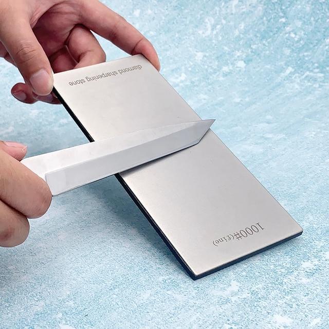 170*75MM Diamond Knife Sharpener Sharpening Stone Grit 80-3000# Grindstone Diamond Tools Fine Grinding Whetstone Kitchen Knives