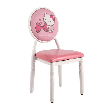 Retro Home Dining Chairs Hotel Reception Chairs Upholstered  Chairs For Cafeteria/bedroom/living /patio/makeup/manicure