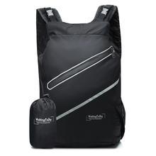 Lightweight Foldable Backpack, Water Resistant Travel Hiking Bike backpack For Men & Women waterproof outdoor hike bag outdoor water resistant backpack bag black