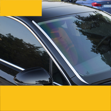 цена на lsrtw2017 stainless steel car front window trims decoration for volkswagen passat B7 B8 2013 2014 2015 2016 2017 2018 2019 vw