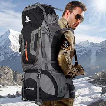 80L Military Tactical Backpack Outdoor Mountaineering Backpack Camping Hiking Backpacks Sports Climbing Bag Mochila Militar Men
