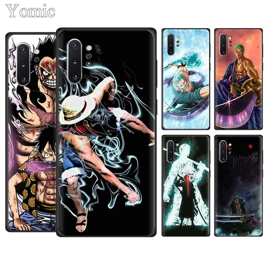 One Piece Zoro Luffy Ốp Điện Thoại dành cho Samsung Galaxy Samsung Galaxy Note 10 10 Plus (5G) note 8 9 S10e S8 S9 S10 Plus S7 Mềm TPU Bao