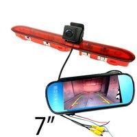 CCD car Brake light camera for Peugeot expert citroen spacetourer toyota proace rear view parking camera car monitor kit