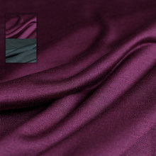 Vermelho framboesa 18momme macio fino elástico tricô tecidos de seda 100% seda verão feminino camiseta forro de costura pano freeshipping