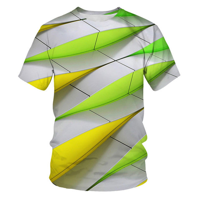 alisoso Jellyfish Summer T Shirt Colorful Children Cartoon Short Sleeve Ladies T-Shirt
