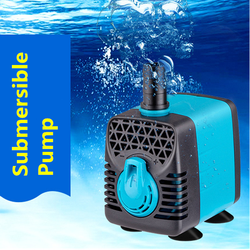 AC220-240V 10-55W Multifunctional Aquarium Water Pumps Tank Pond Pool Fountains Pump Waterproof Submersible Fish Pond Water Pump