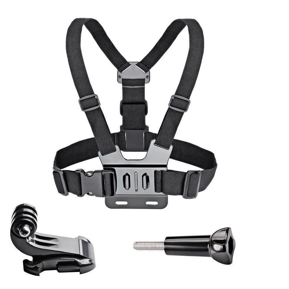 Chest Strap Mount Belt for Gopro Hero 9 8 7 6 5 Xiaomi Yi 4K SJCAM SJ4000 Action Camera Gopro Accessories Chest Mount Harness-0