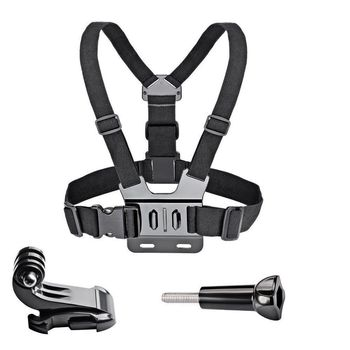 Chest Strap Mount Belt for Gopro Hero 9 8 7 6 5 Xiaomi Yi 4K SJCAM SJ4000 Action Camera Gopro Accessories Chest Mount Harness