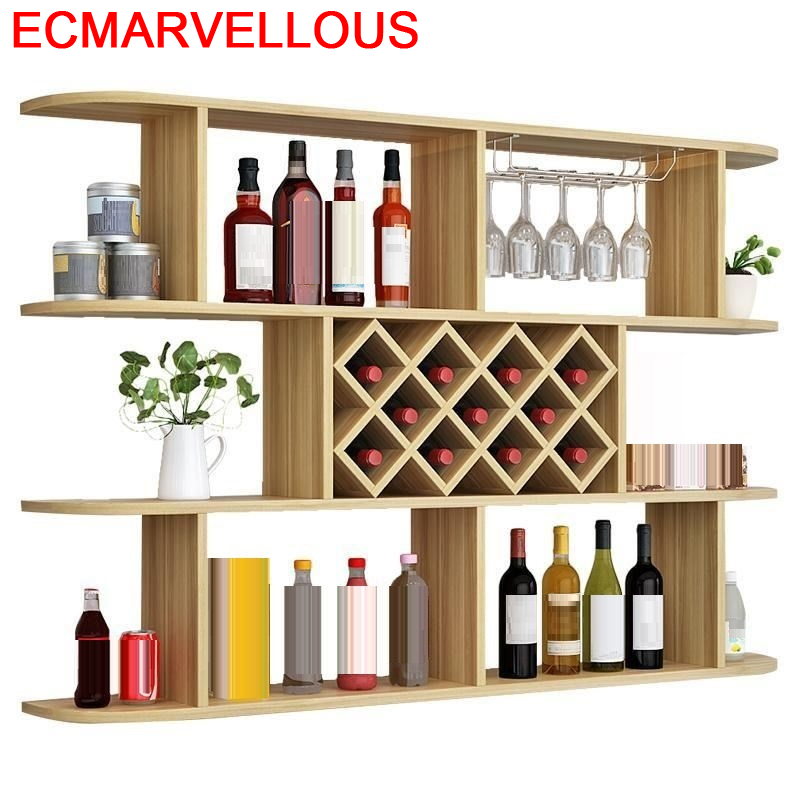 Vinho Meube Cocina Kitchen Salon Vetrinetta Da Esposizione Sala Shelves Display Table Furniture Shelf Mueble Bar Wine Cabinet