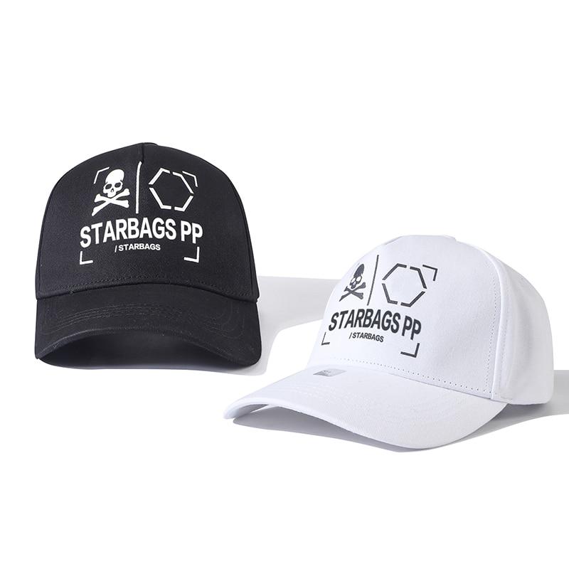 bags pp Original skull logo graphic letter three-dimensional screen printing cool matching hat adjustable casual Baseball Cap