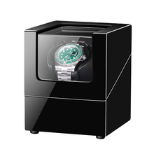 AAA Quality Wooden Single Watch Winder Automatic Watch Winder Box Accessories Display Mechanical Rotating Leather